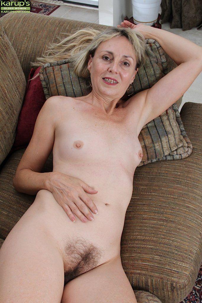 Hairy mature women naked