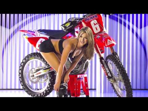 Sexy naked girls on dirt bikes
