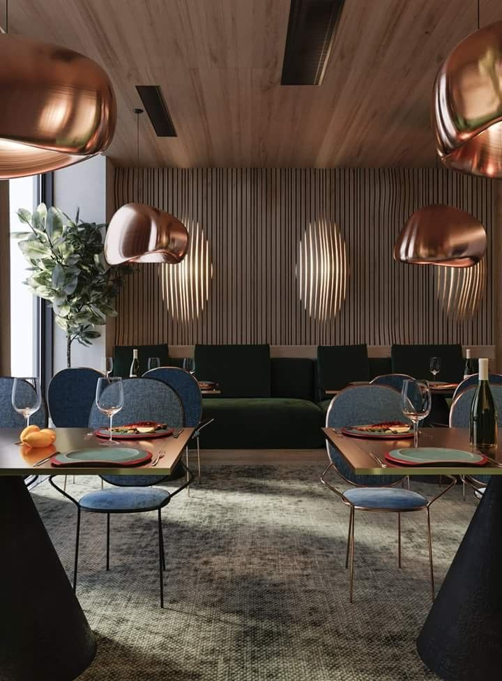 Restaurant lounge furniture design