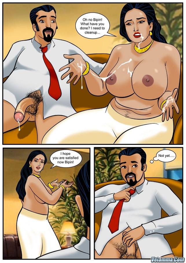 Indian porn comic milf