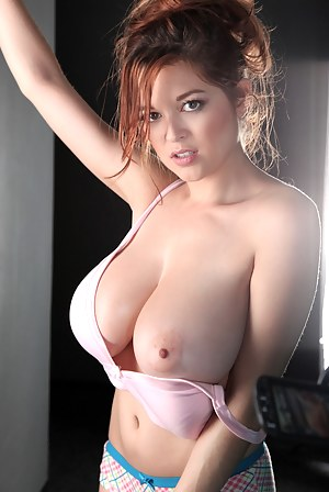 Girl with big tits nude