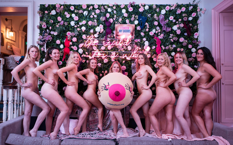 Nude women of societies