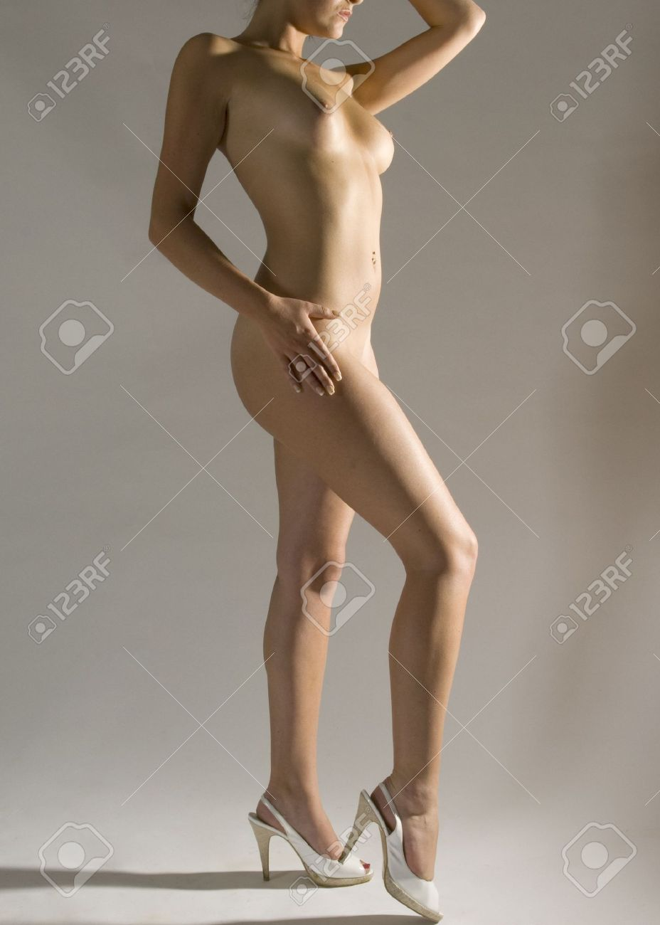 Beautiful nude women standing