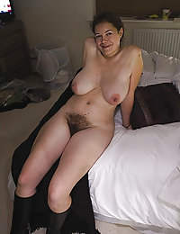 Amateur wife hairy pussy