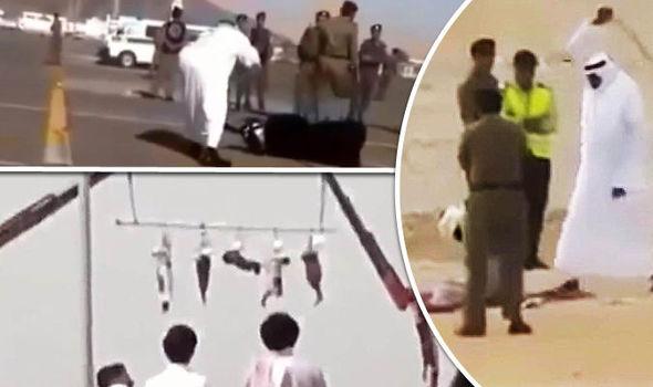 Public punishment in saudi arabia