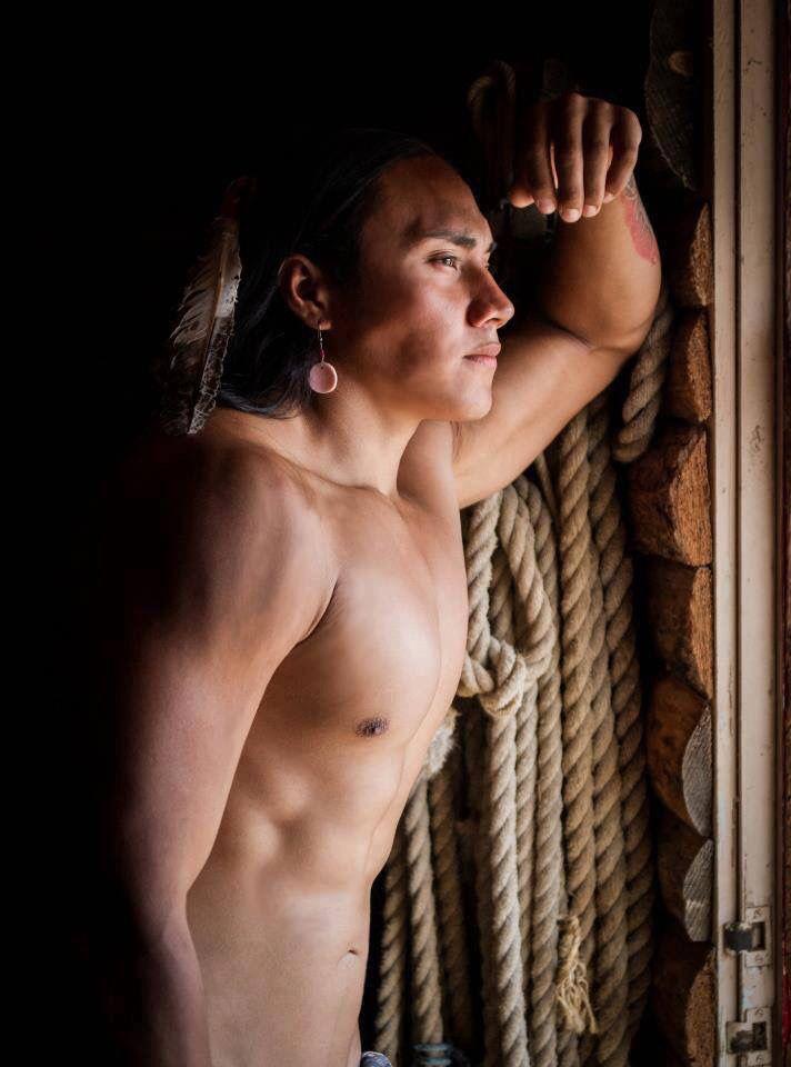Nude american indian men?