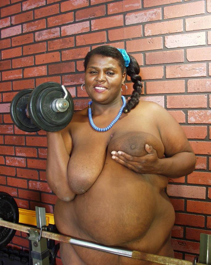 Bbw huge black saggy tits xxx